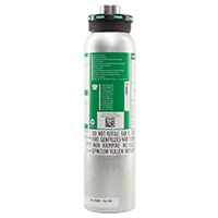 MSA Mischgasflasche 34 L - 20 ppm H2S, 60 ppm CO, 1,45 Vol% CH4, 15 -Vol% O2 in N2