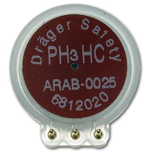 Dräger Sensor XXS PH3 HC - Phosphorwasserstoff (High Concentration) -> 0 - 2000 ppm